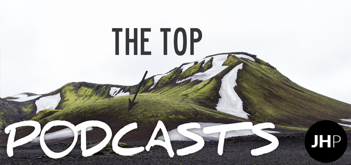 Why are the top podcasts… on top?